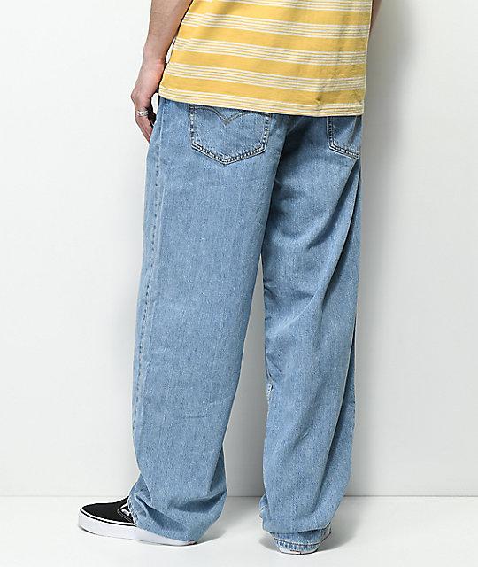 Baggy Levi's Jeans Light Basket Blue Denim d66wqR