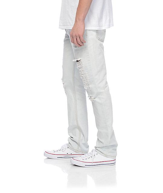5bef320666 ... Levi s Thrashed 511 jeans blancos rotos ...