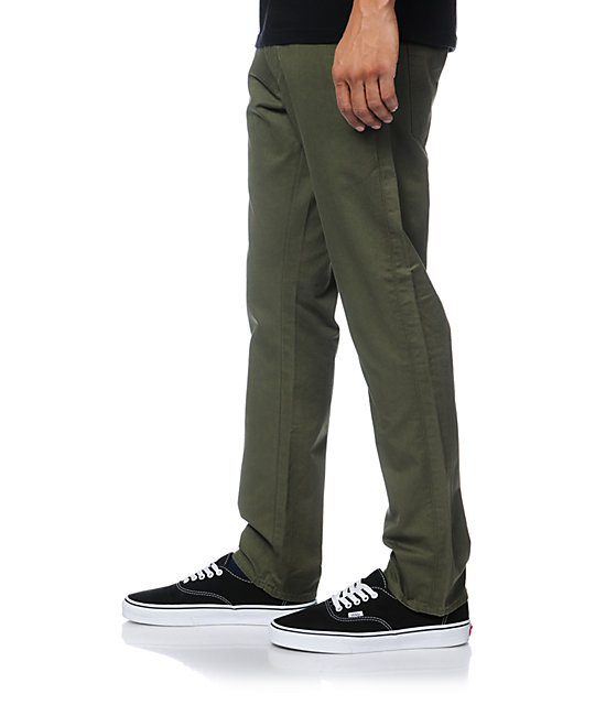 Levis 511 Ivy Green Twill Skinny Fit Pants