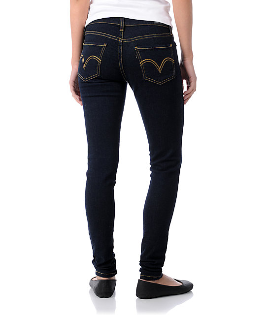 Levis 535 Night Out Dark Indigo Jeggings