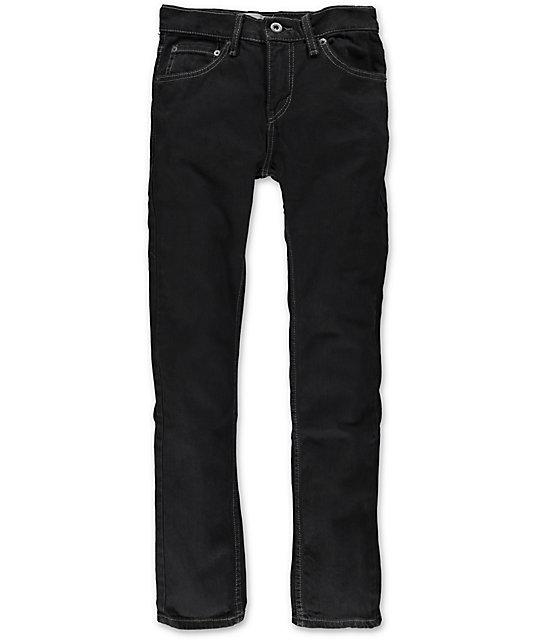f8136501 Levis Boys 510 Black Stretch Skinny Jeans | Zumiez