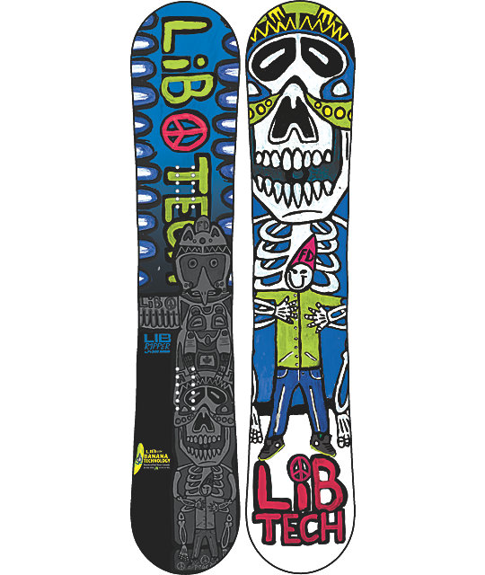 Lib Tech Banana Ripper BTX 120cm Boys Snowboard