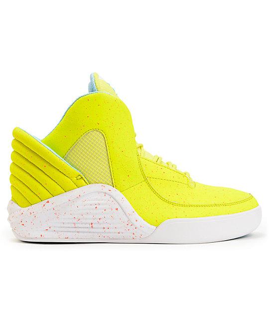4acdc38b679 Lil Wayne x Supra SPECTRE Chimera Highlighter Yellow Shoes | Zumiez