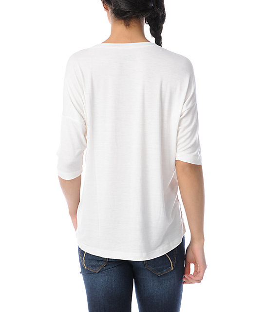 Lira Mayan Natural White Top