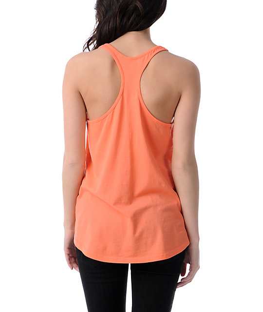 Lira Trees Coral Tank Top