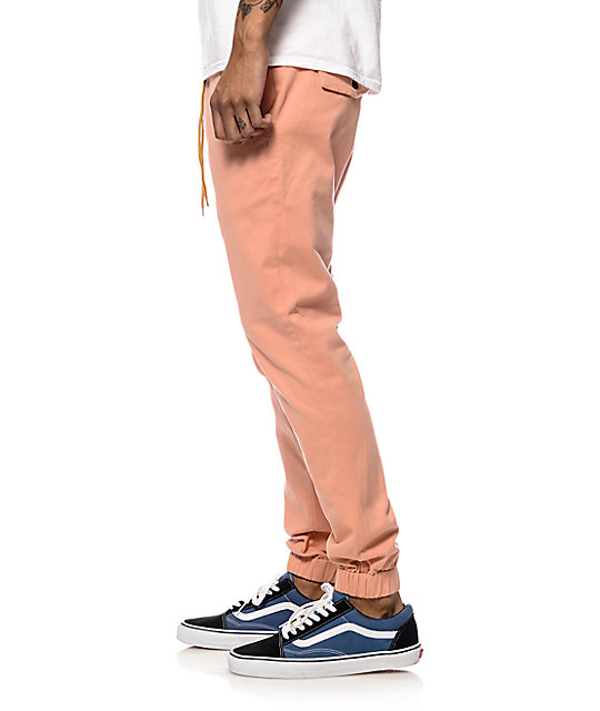 Lira Weekend Clay Twill Jogger Pants