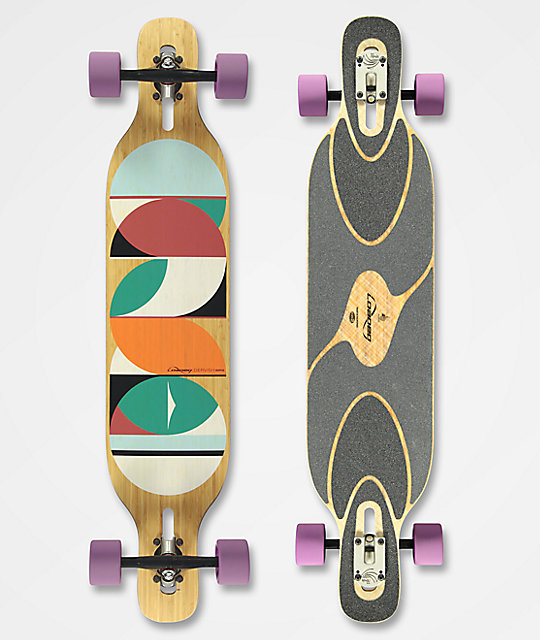 "Loaded Dervish Sama 42.8"" Drop Through Longboard Complete"