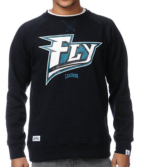 Local Legends Fly Black Crew Neck Sweatshirt