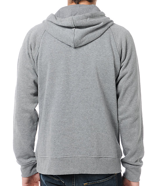Local Legends Highly Pacific Heather Grey Pullover Hoodie