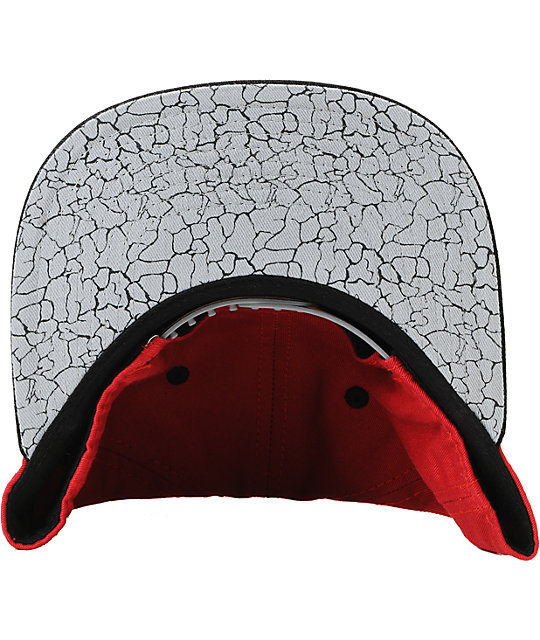 Local Legends Red Crackle Snapback Hat
