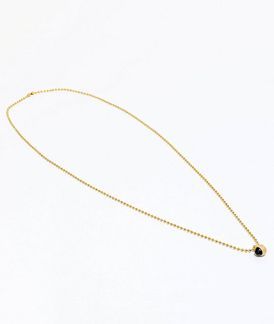 Lokai Gold Single Pendant Necklace