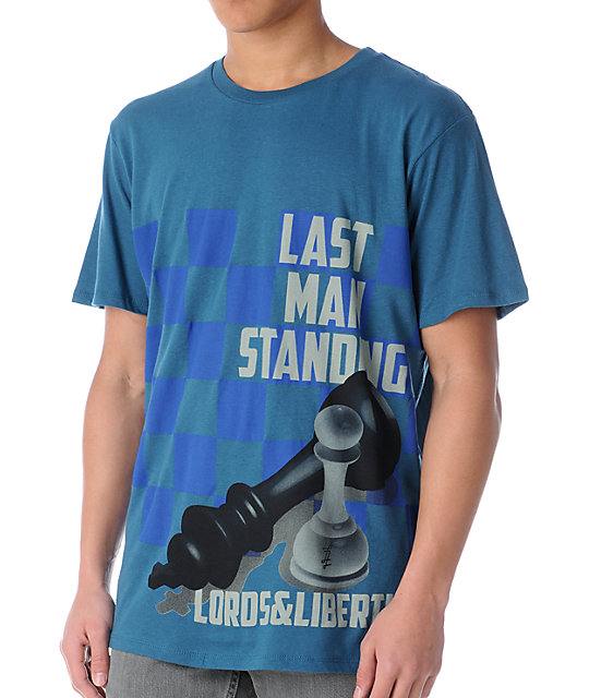 Lords & Liberties Kings Demise Patriot Blue T-Shirt