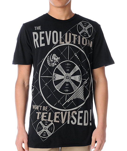 Lords & Liberties Revolution Black T-Shirt