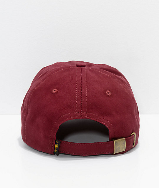 Loser Machine Co. Garfield Burgundy Strapback Hat