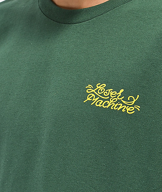 Loser Machine Liberty camiseta verde