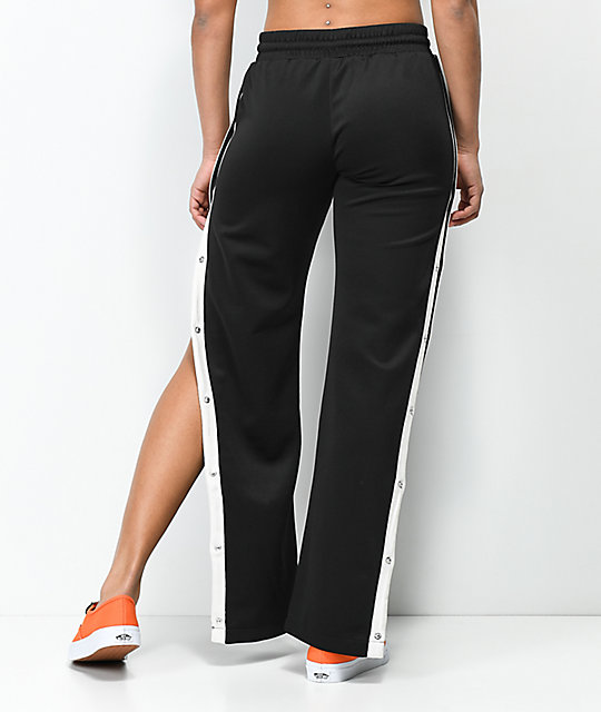 Love, Fire Black Snap Side Track Pants