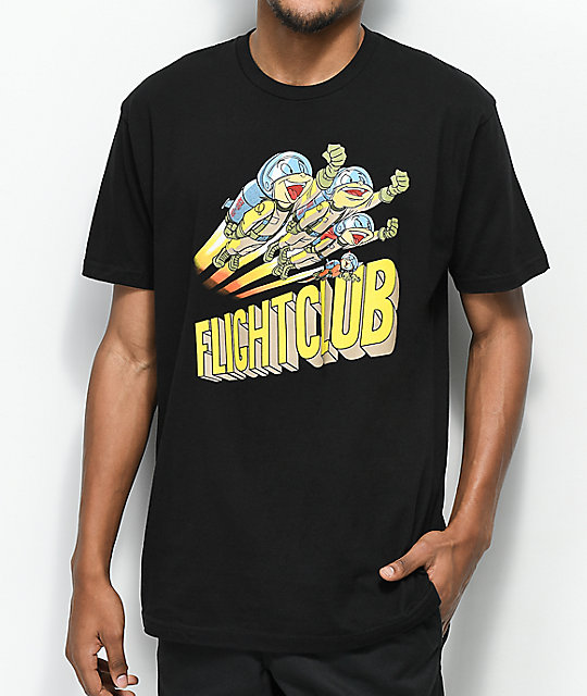 Luckie Losers Flight Club camiseta negra