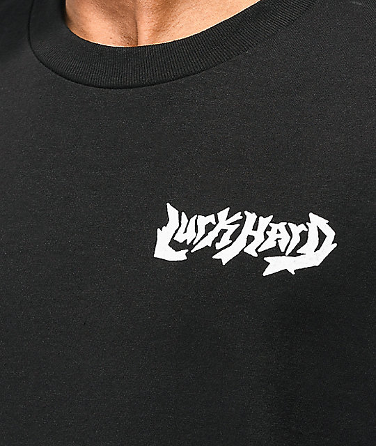 Lurk Hard Viking camiseta negra