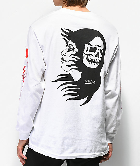 Lurking Class By Sketchy Tank Artoo White Long Sleeve T-Shirt