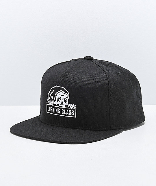 Lurking Class By Sketchy Tank Black Snapback Hat  e72cf8f04cf