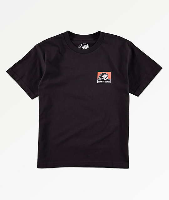 Lurking Class By Sketchy Tank Boys Corpo Black T-Shirt