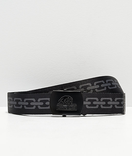 Lurking Class By Sketchy Tank Chain Web Belt