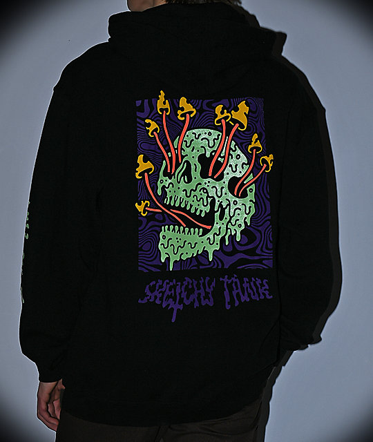 Lurking Class By Sketchy Tank Fungus Color Black Hoodie