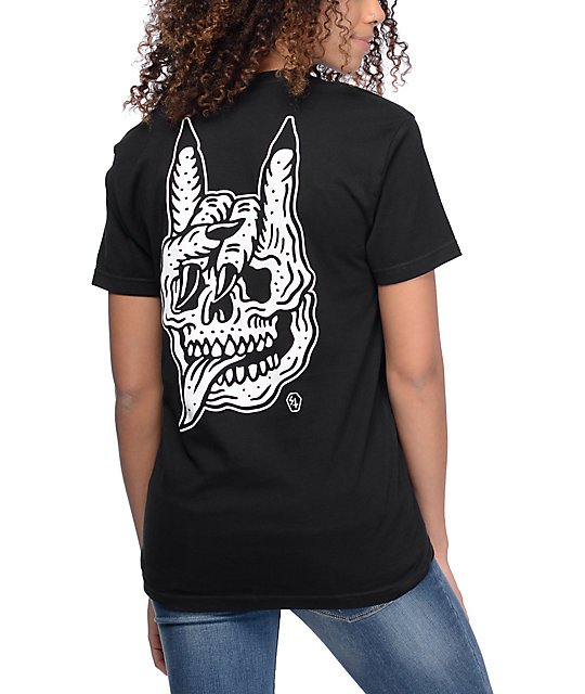 Lurking Class By Sketchy Tank Seek & Destroy Black T-Shirt