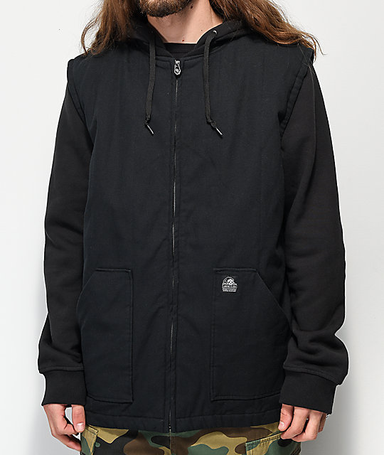 Lurking Class By Sketchy Tank Spiderweb Black 2fer Jacket