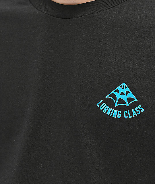 Lurking Class By Sketchy Tank Web Color Black T-Shirt