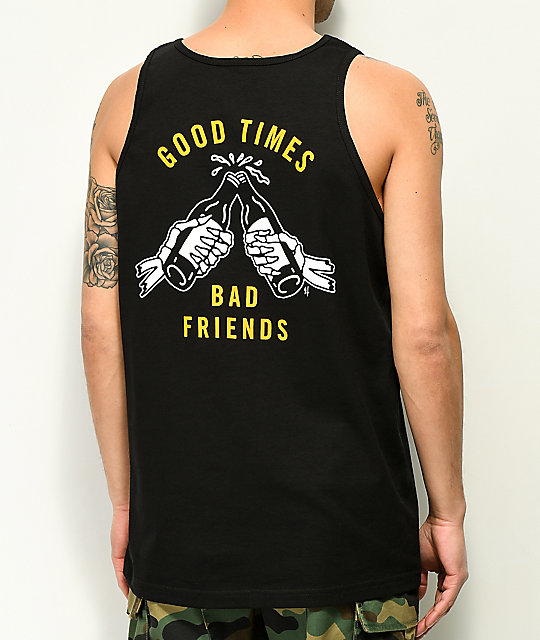 Lurking Class by Sketchy Tank Good Times camiseta negra sin mangas