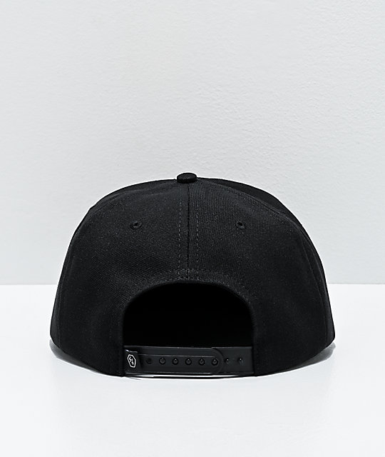 Lurking Class by Sketchy Tank Logo Black Snapback Hat