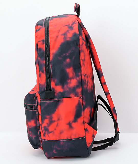 Lurking Class by Sketchy Tank Lurker Red & Black Tie Dye Backpack