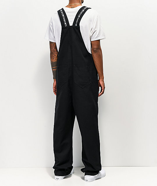 Lurking Class by Sketchy Tank Lurkwear Black Overalls