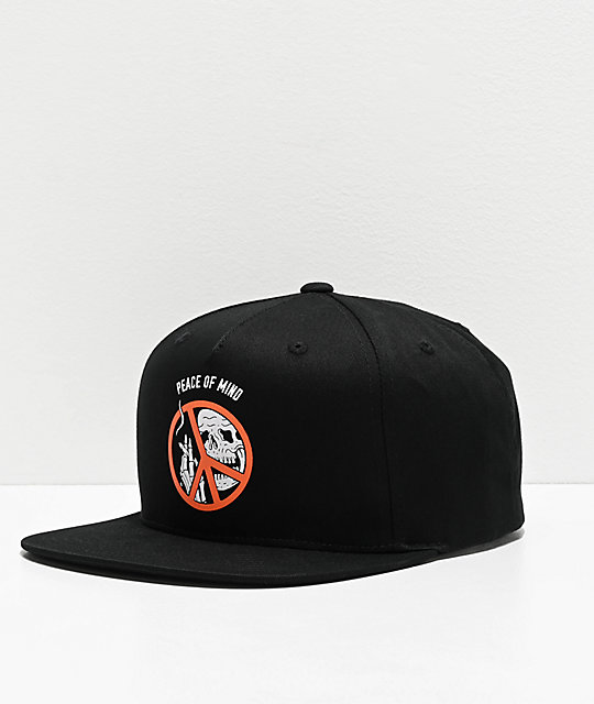 Lurking Class by Sketchy Tank Peace Of Mind gorra negra