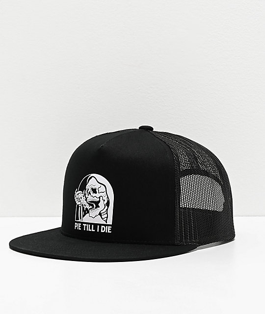 Lurking Class by Sketchy Tank Pie Til I Die Black Trucker Hat