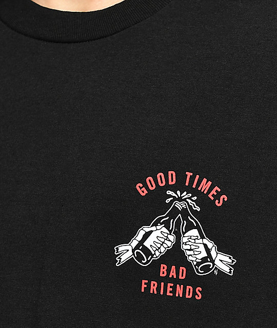 Lurking Class by Sketchy Tank Redrum Good Times camiseta negra