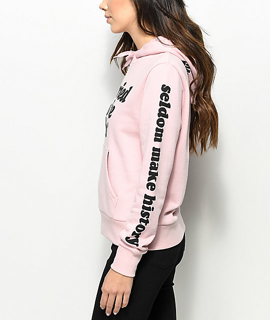 MTTM x K-Swiss Well Behaved Dusty Pink Hoodie