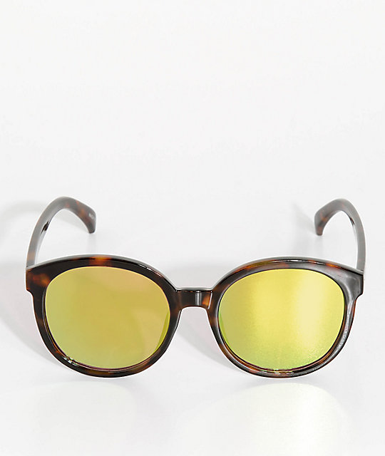 Mackenzie Tortoise & Yellow Sunglasses