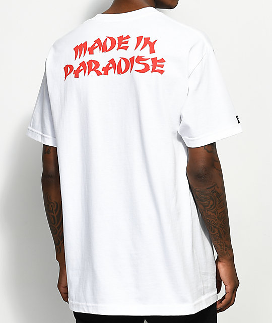 8808e7a8099976 Made In Paradise Sauce White T-Shirt