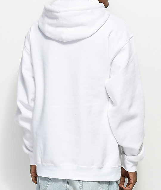 Made In Paradise Send Nudes White Hoodie