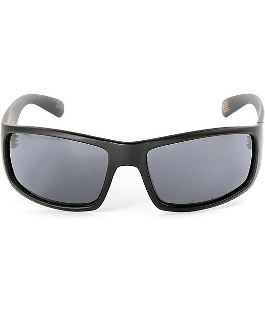 c788ae9a92297 ... Madson 101 Matte Black   Grey Polarized Sunglasses