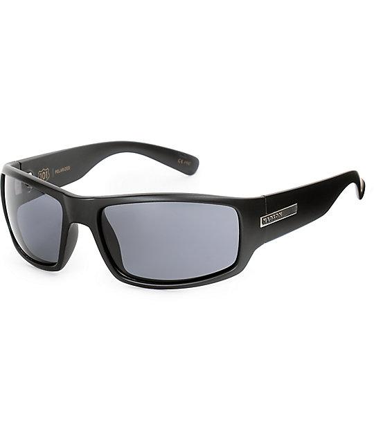 ae27038f23914 Madson 101 Matte Black   Grey Polarized Sunglasses