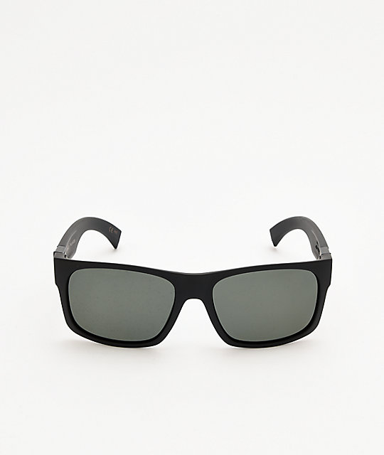 Madson Camino Matte Black & Grey Sunglasses