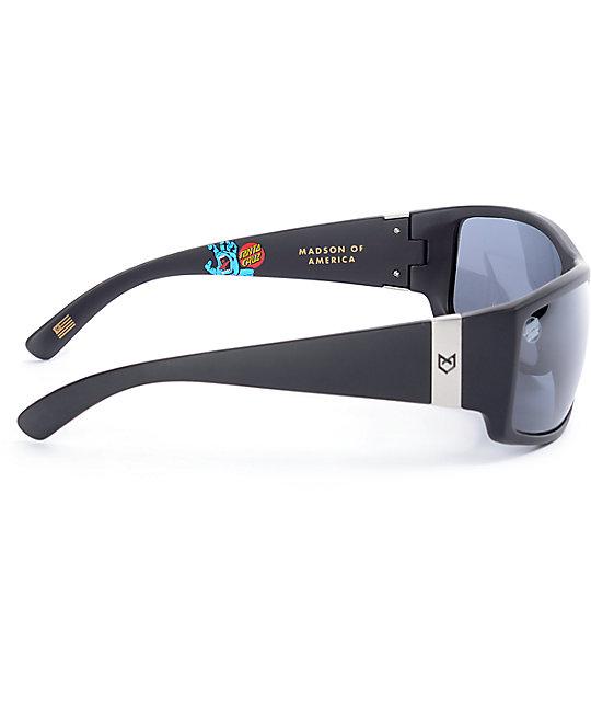 bajo precio 8b83b 22e1f Madson X Santa Cruz Magnate gafas de sol polarizados en negro