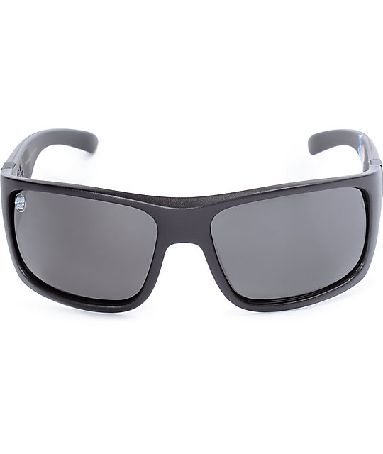 Madson X Santa Cruz Manic Black Polarized Sunglasses