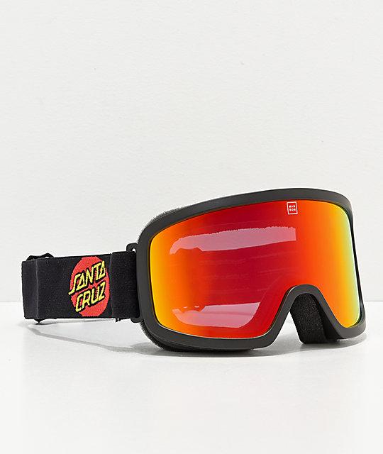 9d717c58ccf Madson x Santa Cruz Time Machine Screaming Hand Snowboard Goggles ...