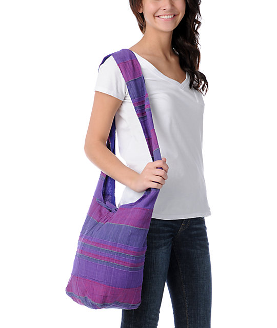 Magic Touch Purple Tote Bag