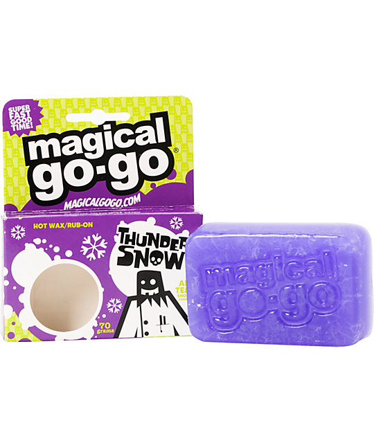 Magical Go Go Thunder Snow All-Temp Snowboard Wax