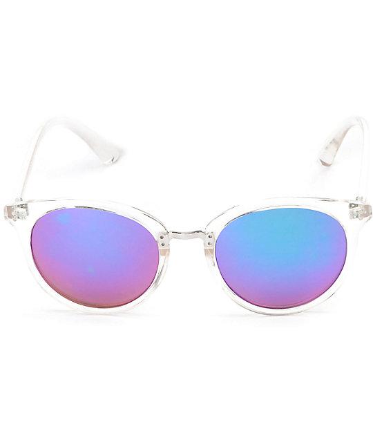 5db99199b65 ... Marley Clear Blue Mirror Lens Sunglasses